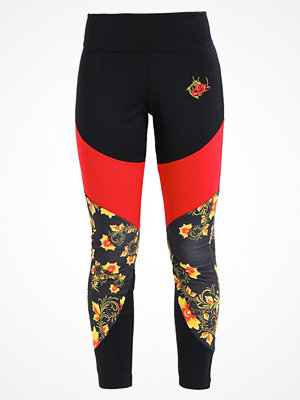 Nike Sportswear FLORAL Leggings black/university red
