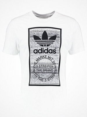 Adidas Originals TRACTION TONGUE Tshirt med tryck white