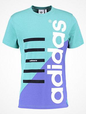 Adidas Originals COMMERCIAL Tshirt med tryck fade ocean