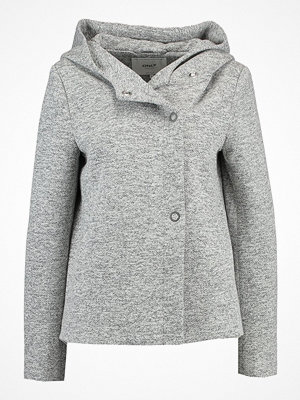 Only ONLFAIRY HOODED SHORT JACKET Tunn jacka light grey