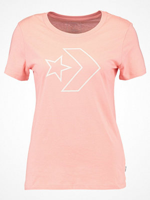Converse CORE STAR CREW TEE  Tshirt med tryck pale coral