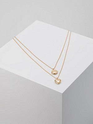 Only ONLRIVA GIFT CHAIN NECKLACE 2PACK Halsband goldcoloured
