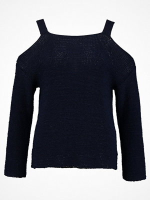 Anna Field Stickad tröja dark blue
