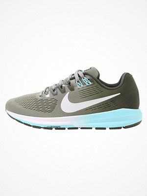 Sport & träningsskor - Nike Performance AIR ZOOM STRUCTURE 21 Löparskor stabilitet dark stucco/pure platinum/sequoia/bleached aqua/white/bla