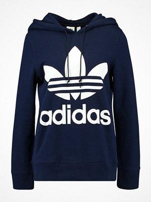 Adidas Originals ADICOLOR TREFOIL HOODIE Luvtröja collegiate navy