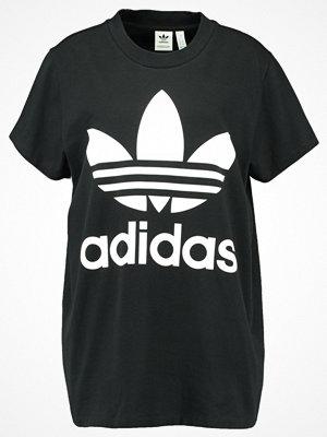 Adidas Originals ADICOLOR BIG TREFOIL TEE Tshirt med tryck black