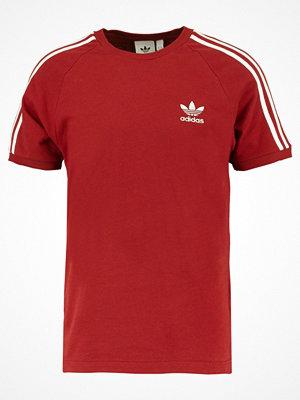 Adidas Originals ADICOLOR 3STRIPES TEE Tshirt med tryck rusred
