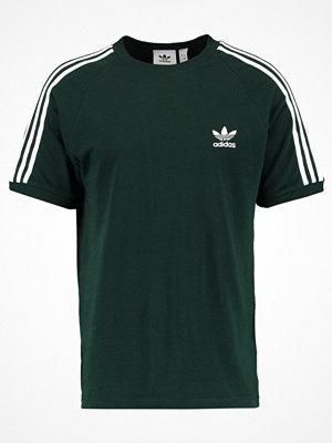Adidas Originals ADICOLOR 3STRIPES TEE Tshirt med tryck dark green
