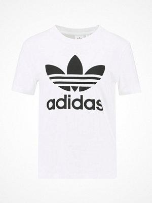 Adidas Originals ADICOLOR TREFOIL TEE Tshirt med tryck white