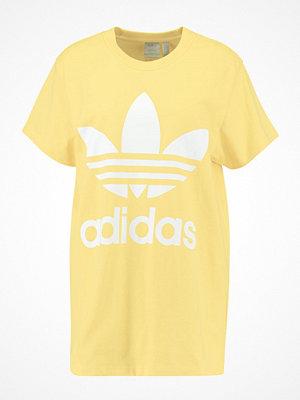 Adidas Originals ADICOLOR BIG TREFOIL TEE Tshirt med tryck sand