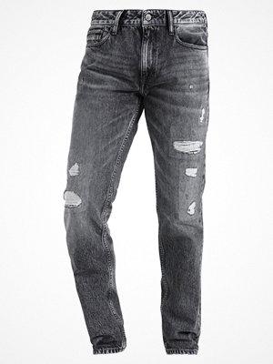Jeans - Calvin Klein Jeans DIVISION Jeans straight leg black destructed