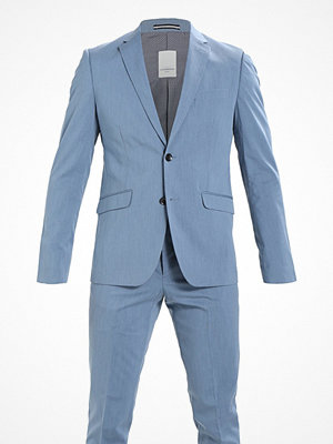 Lindbergh SLIM FIT STRUCTURE SUIT Kostym sky blue