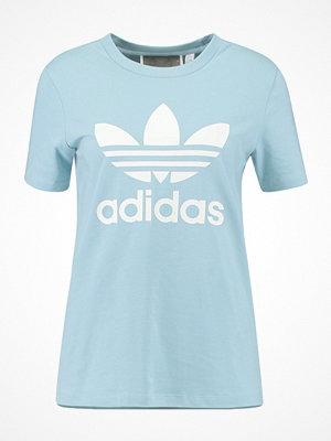 Adidas Originals ADICOLOR TREFOIL TEE Tshirt med tryck light blue