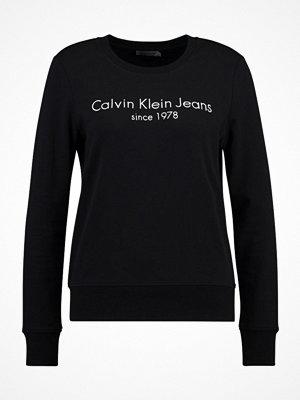 Calvin Klein Jeans HALIA INSTITUTIONAL Sweatshirt black