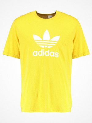 Adidas Originals ADICOLOR TREFOIL Tshirt med tryck yellow