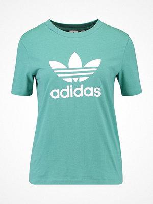 Adidas Originals ADICOLOR TREFOIL TEE Tshirt med tryck future hydro