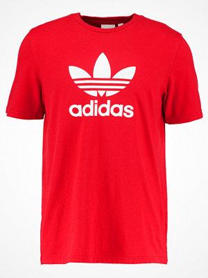 Adidas Originals ADICOLOR TREFOIL Tshirt med tryck hell rot