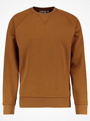 Carhartt WIP CHASE Sweatshirt hamilton brown/gold