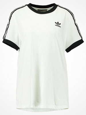 Adidas Originals ADICOLOR THREE STRIPES TEE Tshirt med tryck white