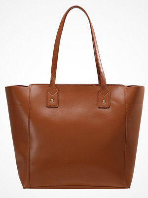 Even&Odd brun shopper Shoppingväska cognac