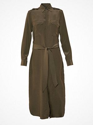 Polo Ralph Lauren LONG SLEEVE CASUAL DRESS Skjortklänning defender green