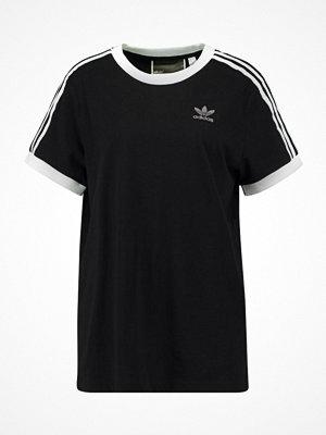 Adidas Originals ADICOLOR THREE STRIPES TEE Tshirt med tryck black