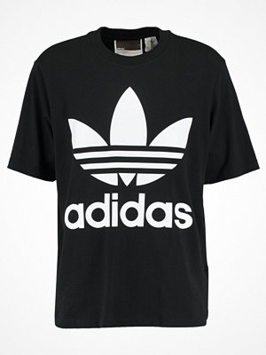 Adidas Originals ADICOLOR OVERSIZED TEE Tshirt med tryck black