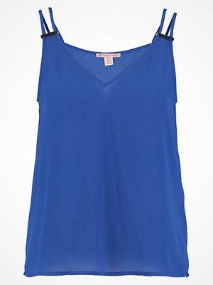 Anna Field Linne royal blue