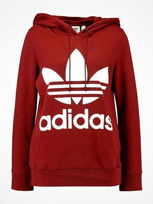Adidas Originals ADICOLOR TREFOIL HOODIE Luvtröja burgundy