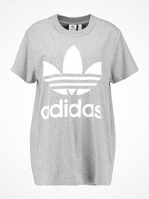 Adidas Originals ADICOLOR BIG TREFOIL TEE Tshirt med tryck grey