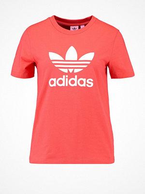 Adidas Originals ADICOLOR TREFOIL TEE Tshirt med tryck trace scarlet