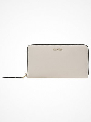 Plånböcker - Calvin Klein FRAME LARGE ZIPAROUND XL Plånbok grey