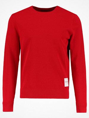 Calvin Klein Jeans SONAT SLIM FIT Stickad tröja tango red
