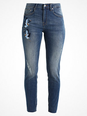 B.Young KATO LUNI EMBROIDERY Jeans slim fit antique blue