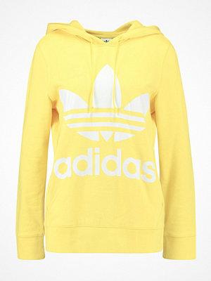 Adidas Originals ADICOLOR TREFOIL HOODIE Luvtröja intense lemon