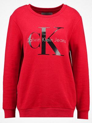 Calvin Klein Jeans CREW NECK TRUE ICON  Sweatshirt tango red