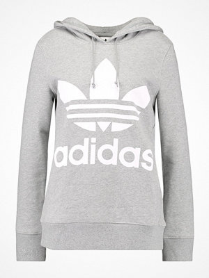 Adidas Originals ADICOLOR TREFOIL HOODIE Luvtröja grey
