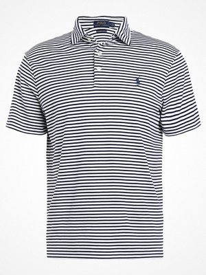 Pikétröjor - Polo Ralph Lauren PIMA Piké white/french navy