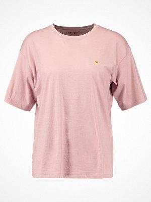 Carhartt WIP CHASE Tshirt bas soft rose