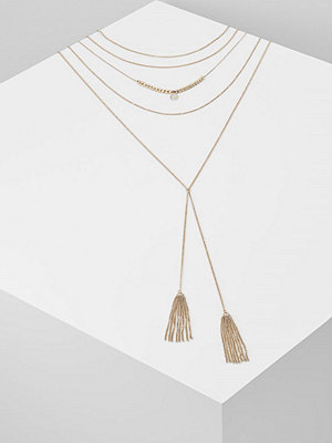 Topshop MEGA Halsband goldcoloured