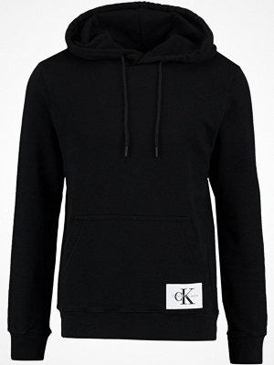 Calvin Klein Jeans HOMEROS SLIM FIT POPOVER Luvtröja black