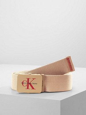 Calvin Klein Jeans REISSUE PLAQUE BELT Skärp tannin