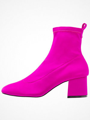 Topshop BUTTERCUP SOCK BOOT Stövletter pink