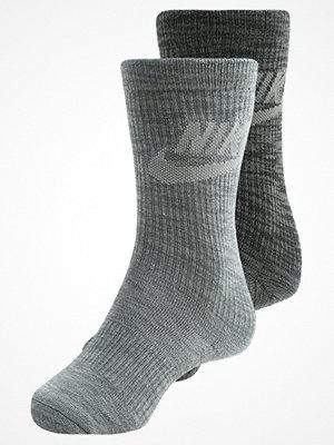Strumpor - Nike Sportswear MENS ADVANCE CREW 2 PACK Strumpor dark grey/black