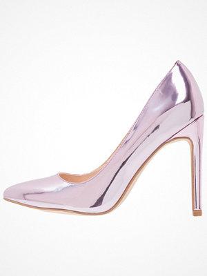 Even&Odd Klassiska pumps purple