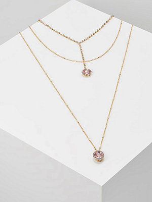 Topshop NAVETTE STONE LARIAT Halsband pink