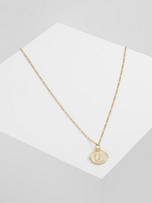 Topshop SPIN COIN Halsband goldcoloured