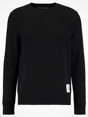 Calvin Klein Jeans SENET REGULAR FIT Stickad tröja ck black