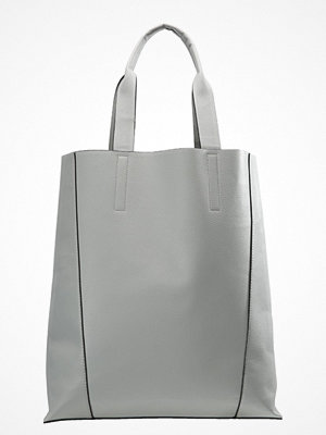 Even&Odd ljusgrå shopper Shoppingväska light grey