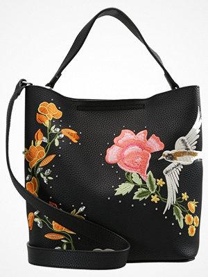 Topshop HOLLY BIRD HOBO Handväska black